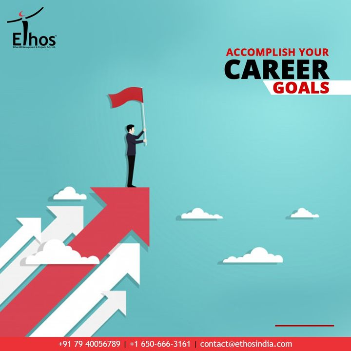 Give your passion a boost in the right direction and get a chance to accomplish your career goals with Ethos India   #EthosIndia #Ahmedabad #EthosHR #Recruitment #CareerGuide #India