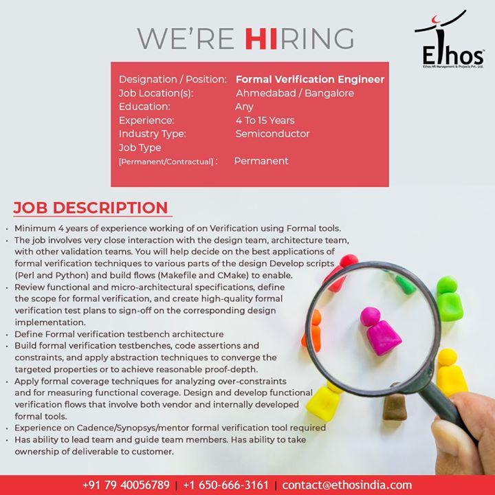 We're Hiring!  #Jobs #EthosIndia #Ahmedabad #EthosHR #Recruitment #CareerGuide #India