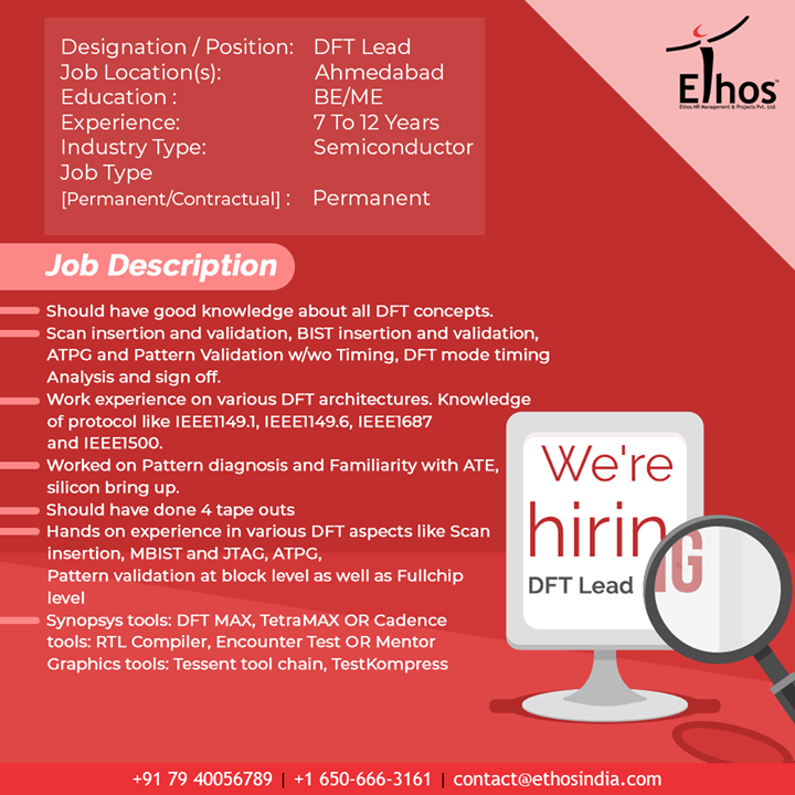Ethos India,  Jobs, EthosIndia, Ahmedabad, EthosHR, Recruitment, CareerGuide, India
