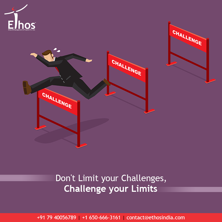 Challenges are what make life interesting and overcoming them is what makes life meaningful.  #EthosIndia #Ahmedabad #EthosHR #Recruitment #CareerGuide #India