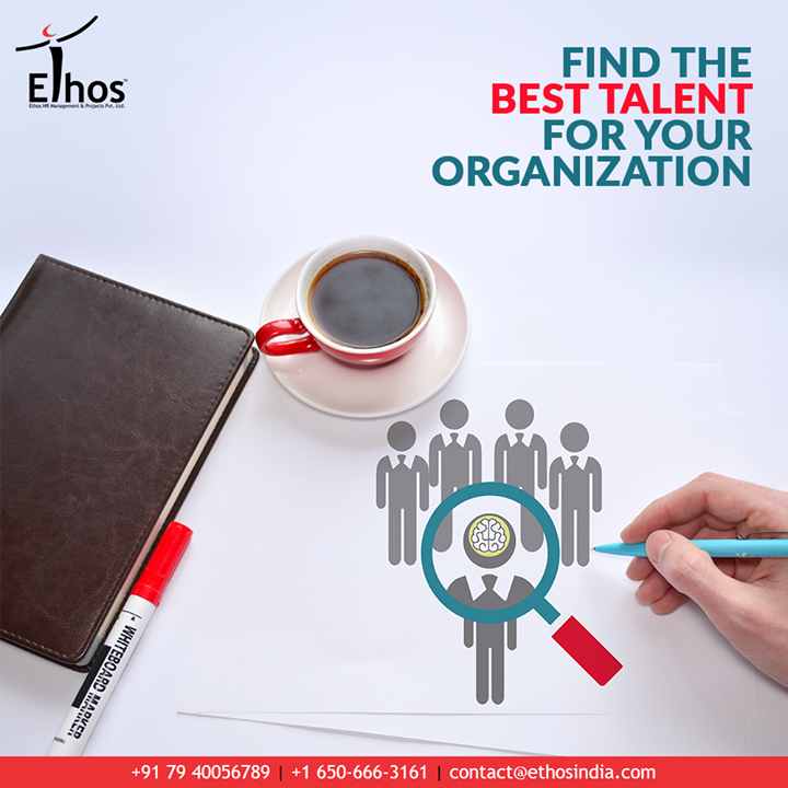 Find the best talent for your organization with Ethos. It has skilled, qualified, and highly talented human resource experts who understand your business needs and find the right candidate for you.  #TalentSourcing #HeadHunters #TalentSearch #EthosIndia #Ahmedabad #EthosHR #Recruitment #CareerGuide #India