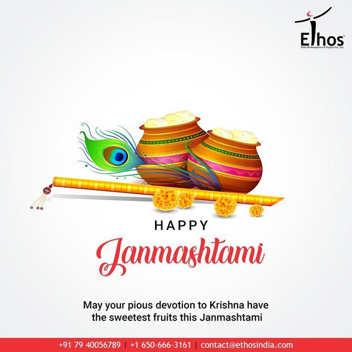 Ethos India,  HappyJanmashtami, KrishnaJanmashtami2020, Janmashtami2020, LordKrishna, Janmashtami, EthosIndia, Ahmedabad, EthosHR, Recruitment, CareerGuide, India