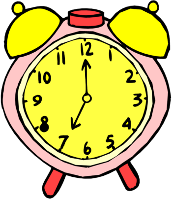 Weekend thought -  The only thing worse than hearing the alarm clock in the morning is not hearing it!