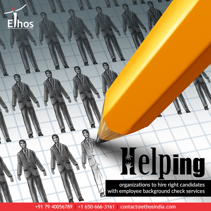 The employees you hire are no lesser than the treasures. At Ethos India, we care to help the organizations to expertise the art of hiring with safe & sound employee background verification services.  #TheArtOfHiring #EthosIndia #Ahmedabad #EthosHR #Recruitment #CareerGuide #India #EmployeeBackgroundVerification