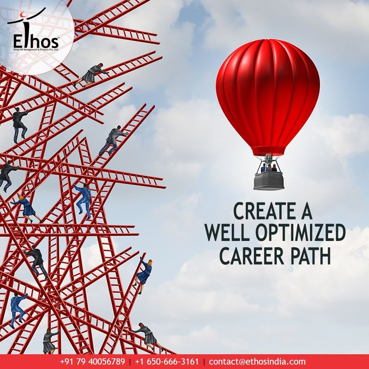 A little guidance about your vocation can go a long way!   Get in touch with the expert career guide; Ethos India and we will help you to create a well-optimized career path.  #OptimizedCareerPath #Ahmedabad #EthosHR #Recruitment #ExpertCareerGuide #India