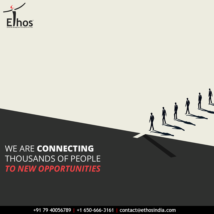 Jobs are lost; not hopes!  At Ethos India, we are connecting thousands of people to new career opportunities.  #Ahmedabad #EthosHR #Recruitment #CareerGuide #India #SuccessFormula