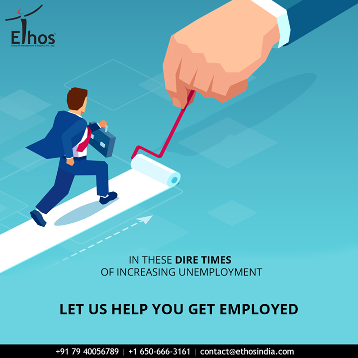 The pandemic has increased the unemployment rate. But despite that, the career experts at Ethos India are finding the best possible methods to help you get the employment you deserve.  #EthosIndia #Ahmedabad #EthosHR #Recruitment #CareerGuide #India #SuccessFormula