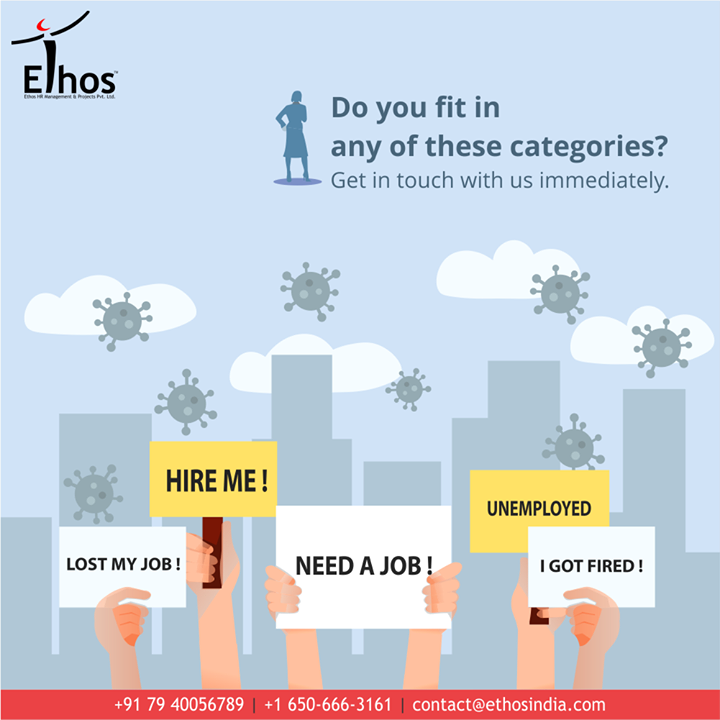 Do you fit in any of the above portrayed categories?  Why fit in when you can stand out!  Get in touch with #EthosIndia at the earliest.  #StandOut #CareerOpportunity #EthosIndia #Ahmedabad #EthosHR #Recruitment #CareerGuide #India #SuccessFormula