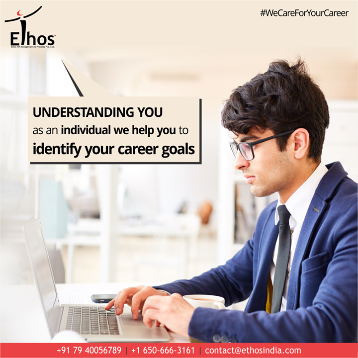 At #EthosIndia, we care for your career and we wish to get you on the right graph of career development.  Understanding you as an individual we help you to identify your career goals.  #WeCareForYourCareer #ThingsWeDo #WhatMakesUsStandOut #OurServices #CareerOpportunity #EthosIndia #Ahmedabad #EthosHR #Recruitment #CareerGuide #India