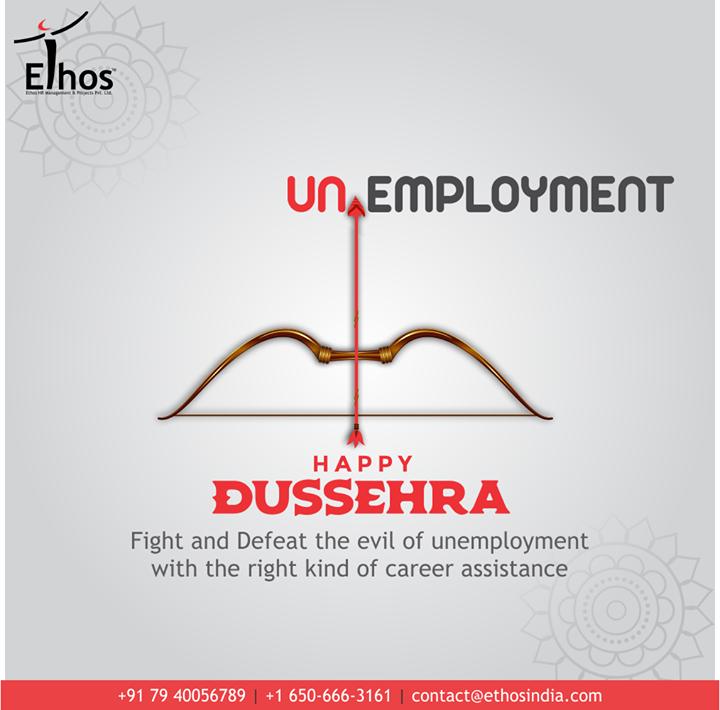 Ethos India,  HappyDussehra, Dussehra, Dussehra2020, Festival, Vijayadashmi, HappyDussehra2020, EthosIndia, Ahmedabad, EthosHR, Recruitment, CareerGuide, India