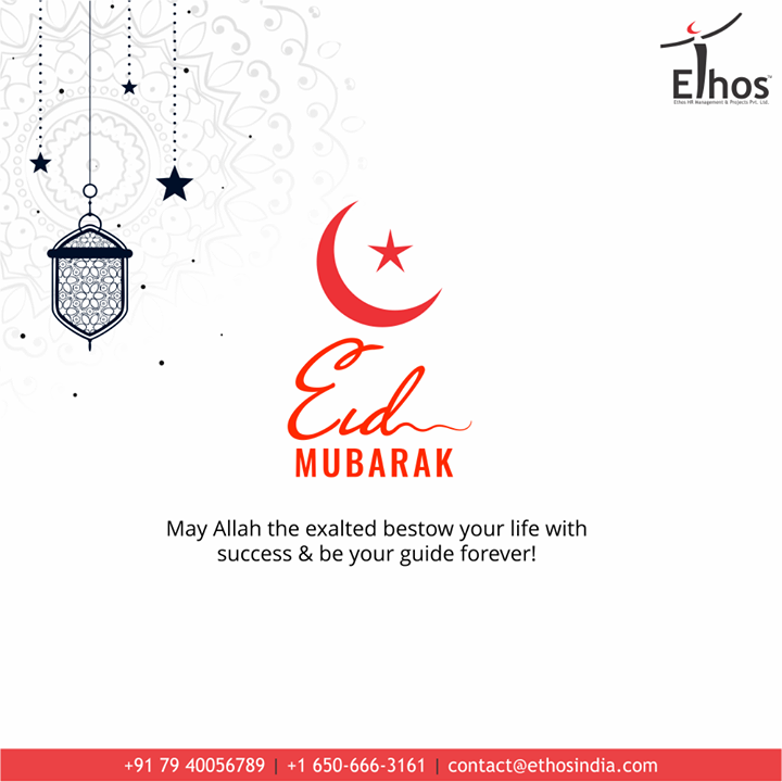 May Allah the exalted bestow your life with success & be your guide forever!  #EidEMilad #EidMubarak #EidEMiladMubarak  #EidEMilad2020 #EthosIndia #Ahmedabad #EthosHR #Recruitment #CareerGuide #India