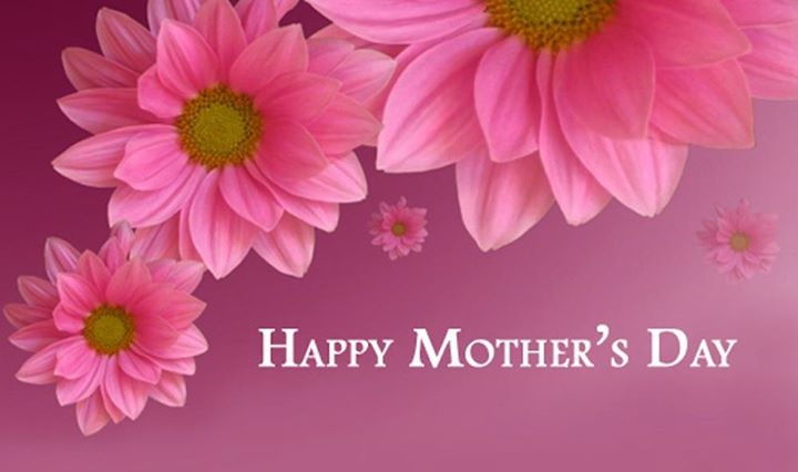 Happy Mother's Day to all you wonderful mothers. You deserve it!