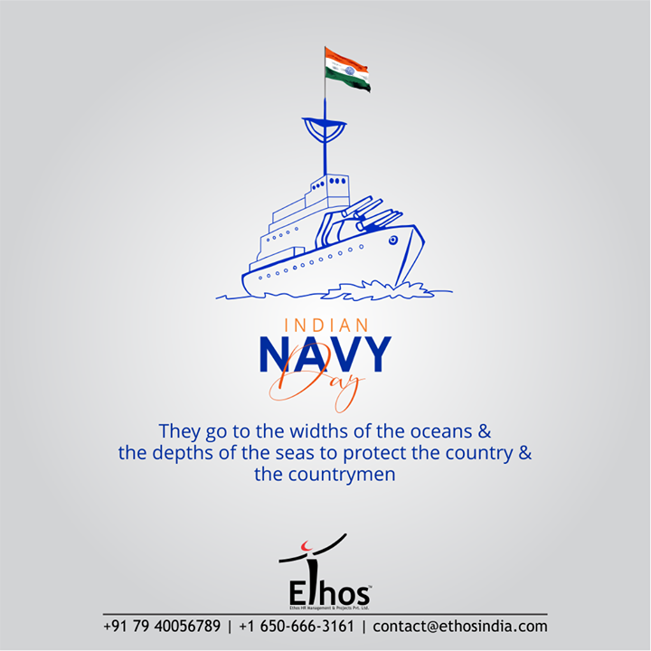 They go to the widths of the oceans & the depths of the seas to protect the country & the countrymen  #IndianNavyDay #IndianNavy #IndianNavyDay2020 #NavyDay #Heroes #MarineWarriors #WeCareForYourCareer #WhatMakesUsStandOut #OurServices #CareerOpportunity #EthosIndia #Ahmedabad #EthosHR #Recruitment #CareerGuide #India