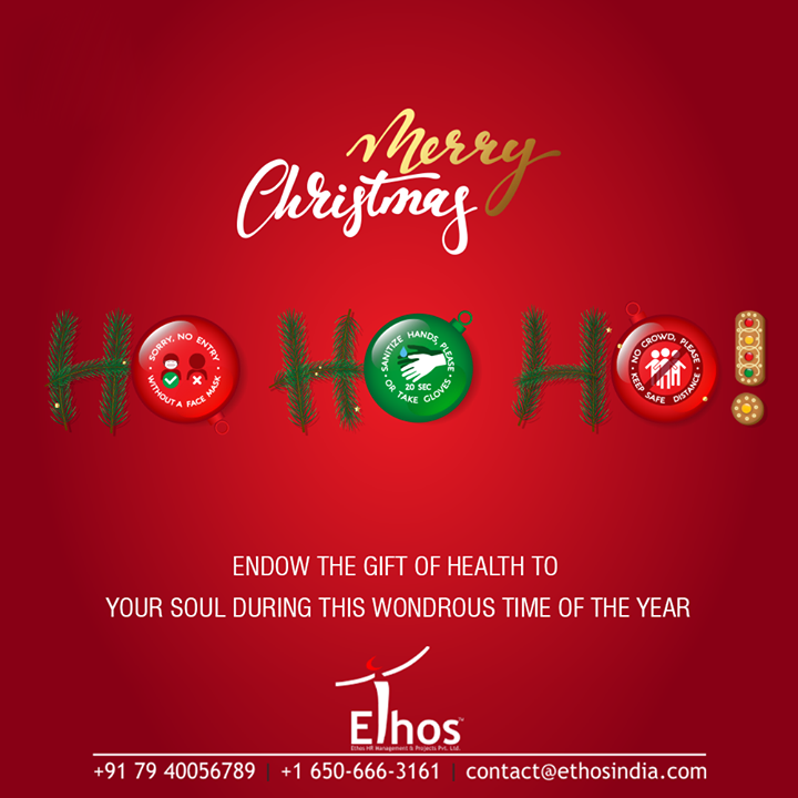 Endow the gift of health to your soul during this wonderous time of the year   #MerryChristmas  #MerryChristmas2020  #Christmas #xmas #SuccesfulCareer #CareerGuide #EthosIndia