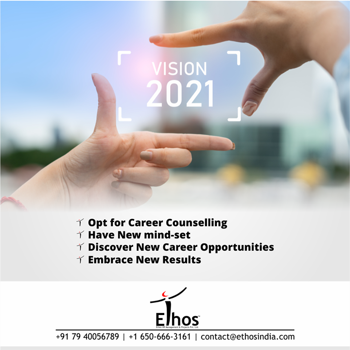 Do not let your career goals snooze; keep grinding to set new benchmarks for your career in 2021.  Opt for Career Counselling; develop a new mind-set, discover new career opportunities and embrace new results.  For inquiries, call +91 7940056789 or +16506663161 or mail us at contact@ethosindia.com  #NewYear #NewCareerGoals #CareerCounselling #OurServices #CareerOpportunity #EthosIndia #Ahmedabad #EthosHR #Ethos #HR #Recruitment #CareerGuide #India