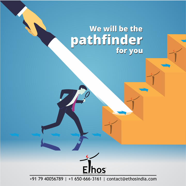 You have higher career aspirations but confused about the path?  We will be the pathfinder for you and help you to rise high.  #NewYear #NewCareerGoals #CareerCounselling #OurServices #CareerOpportunity #EthosIndia #Ahmedabad #EthosHR #Ethos #HR #Recruitment #CareerGuide #India