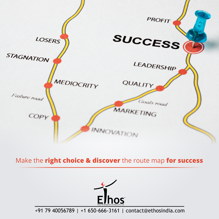 Take charge of your career dreams, choose the right side, seek for career guidance and discover the route map for success.  For career related inquiries, call +91 7940056789 or +16506663161 or mail us at contact@ethosindia.com  #CareerDreams #NewCareerGoals #CareerCounselling #OurServices #CareerOpportunity #EthosIndia #Ahmedabad #EthosHR #Ethos #HR #Recruitment #CareerGuide #India