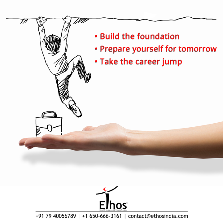 Discover the secrets to success and excel in your career! - Build the foundation right - Prepare yourself for tomorrow - Take the career jump  #SuccessTips #CareerCounselling #OurServices #CareerOpportunity #EthosIndia #Ahmedabad #EthosHR #Ethos #HR #Recruitment #CareerGuide #India