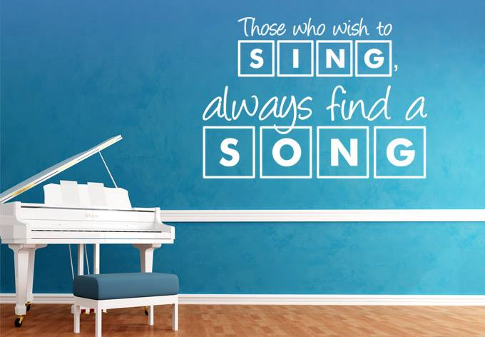 Which song are you singing today?