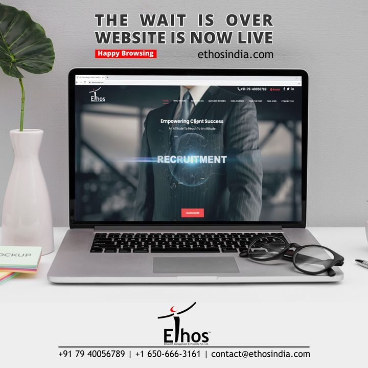 Ethos India,  CareerOpportunity, EthosIndia, Ahmedabad, EthosHR, Recruitment, CareerGuide, India, SuccessFormula