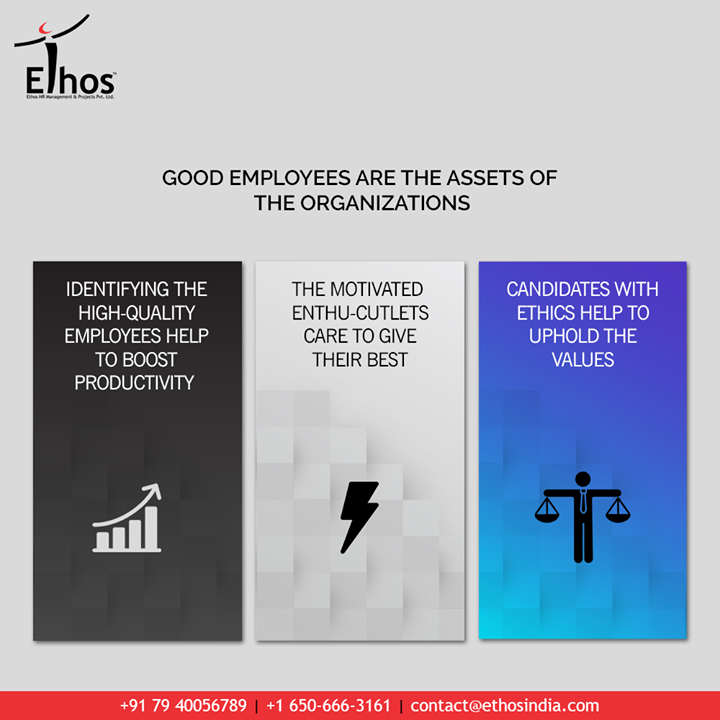 This post is exclusively for the ones who are still looking for some sound reasons to hire the potential candidates!  Identifying the high-quality employees help to boost productivity.   The motivated enthu-cutlets care to give their best.  Candidates with ethics help to uphold the values.  Keep the process of hiring and recruitment simplified with Ethos India.  #CareerCounselling #OurServices #CareerOpportunity #EthosIndia #Ahmedabad #EthosHR #Ethos #HR #Recruitment #CareerGuide #India