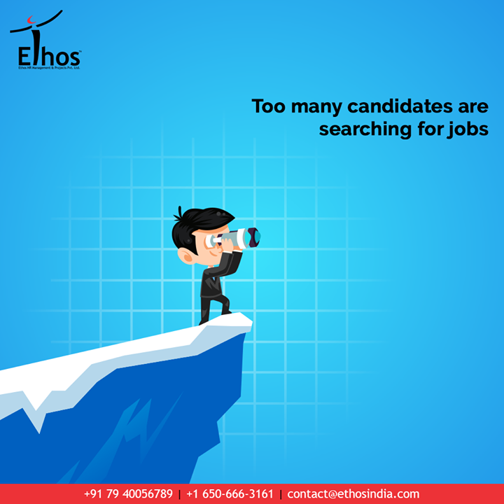 Too many candidates are searching for jobs and too many job openings are around.  But the right talent should meet the right opportunity and win the game.  Hire the right candidates to your organization.  #JobRecruitment #EmployeeHiring #CareerCounselling #OurServices #CareerOpportunity #EthosIndia #Ahmedabad #EthosHR #Ethos #HR #Recruitment #CareerGuide #India