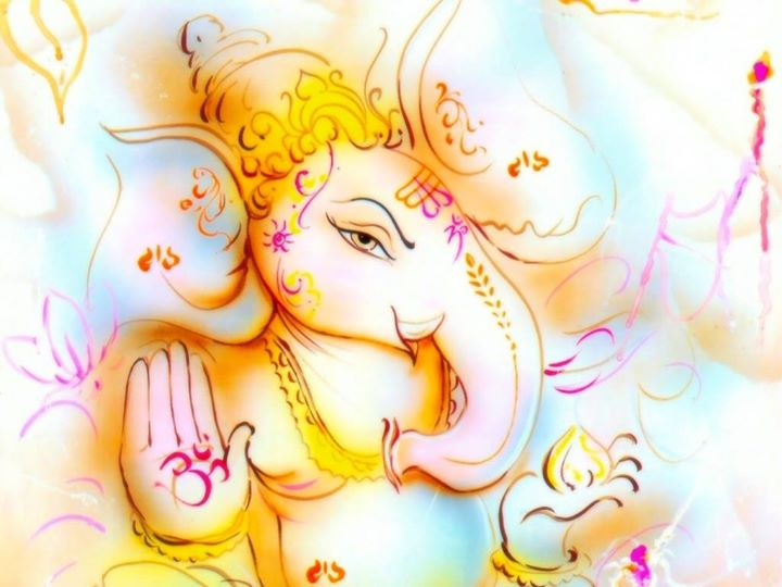 My Lord #Ganesh bless you and your family with #Peace and #Happiness..