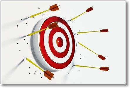 Midweek Thought!   How can you make sure you never miss your target? Shoot first, and whatever you hit, call it the target.