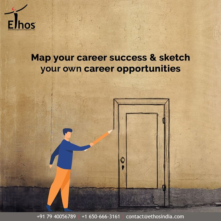 Let visual thinking be your power tool and Ethos India be your career guide while you map your career success and sketch your own career opportunities.  #EthosHR #Ethos #HR #Recruitment #CareerGuide #India