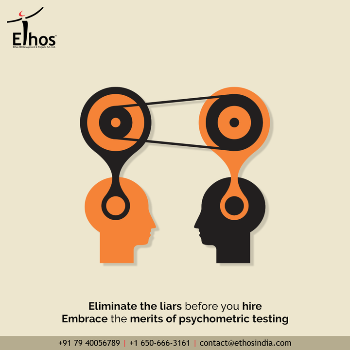 Hiring new employees is no easy game and has always been tasking job. Be wise and careful while getting the employees hired.   Eliminate the liars before you hire and embrace the merits of psychometric testing.  #EthosHR #Ethos #HR #Recruitment #CareerGuide #India