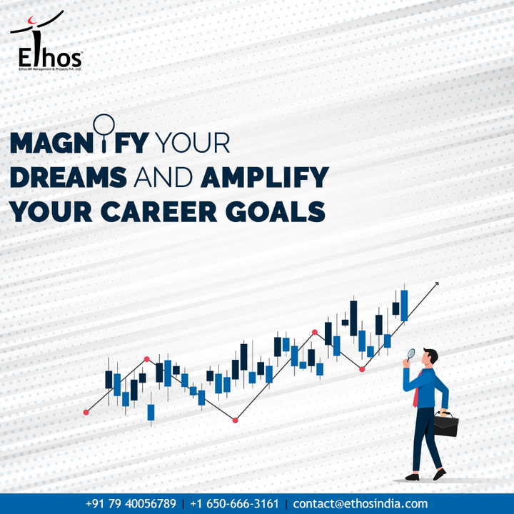 Magnify your dreams, amplify your career goals and give your career a transformative makeover with the expert career guide in town; Ethos India.  #EthosHR #Ethos #HR #Recruitment #CareerGuide #India