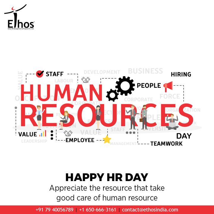 Appreciate the resource that take good care of human resource  #HappyHRDay #EthosHR #Ethos #HR #Recruitment #CareerGuide #India
