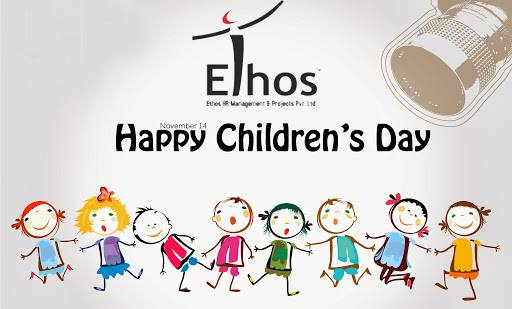 """""""Children are the World's most valuable resources and its best hope for the future"""" Happy #Children's Day from Ethos India !"""