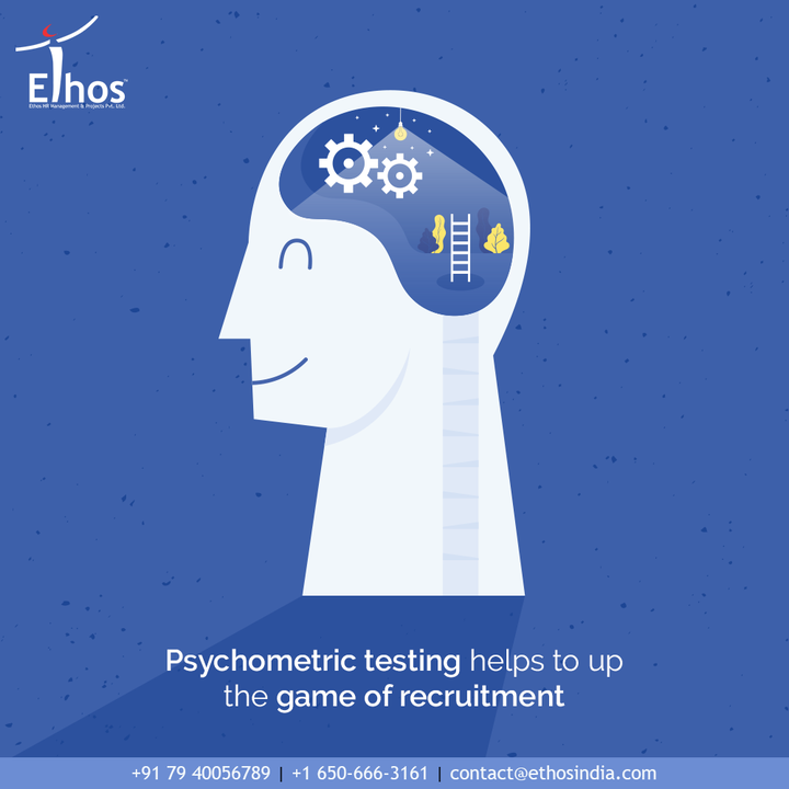 Across the industries, it is psychometric testing that helps to up the game of recruitment.  Stop relying on the traditional methods of employee verification and say yes to psychometric testing.  #PsychometricTesting  #JobRecruitment #EmployeeHiring #CareerCounselling #OurServices #CareerOpportunity #EthosIndia #Ahmedabad #EthosHR #Ethos #HR #Recruitment #CareerGuide #India