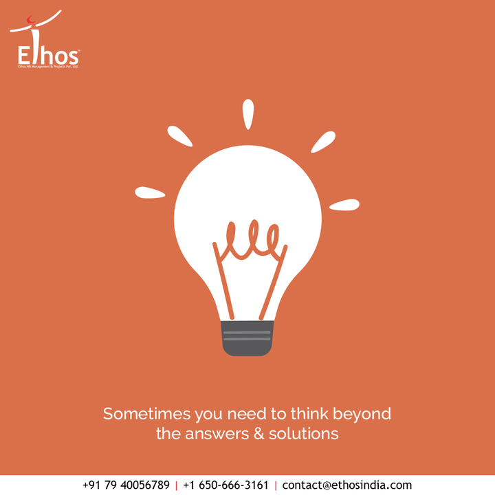When it comes to career building and taking the life-changing decisions, it is important to ask questions.  Sometimes you need to think beyond the answers & solutions if you wish to achieve your goals rightly.  #AskNow #AskQuestion #TipOfTheDay #EthosHR #Ethos #HR #Recruitment #CareerGuide #India