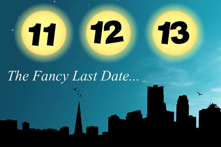 The last #Fancy date of the year! Are you someone who believes in #numbers?