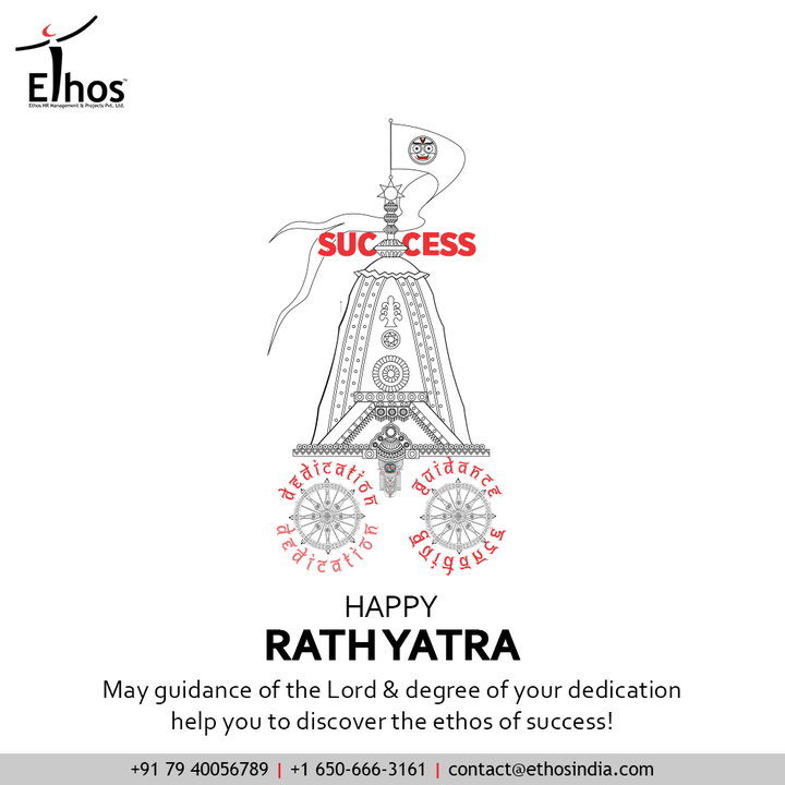 May the mighty Lord be your friend, philosopher & guide in the path of your life!  #rathyatra #jagannath #jaijagannath #lordjagannath #rathyatra2021 #chariot #indianfestivals #jagannathrathyatra #EthosIndia #Ahmedabad #EthosHR #Ethos #HR #Recruitment #CareerGuide #India