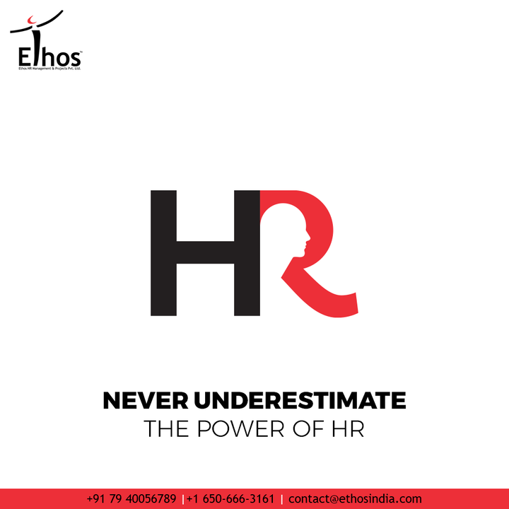 The right set of HR professionals help to guide companies towards bright future. Application of their effective practices paired with collective wisdom help to raise the standards of human resource management.   So all you need to do is never underestimate the power of HR.  #PowerOfHR #CareerCounselling #CareerGuidance #OurServices #CareerOpportunity #EthosIndia #Ahmedabad #EthosHR #Ethos #HR #Recruitment #CareerGuide #India