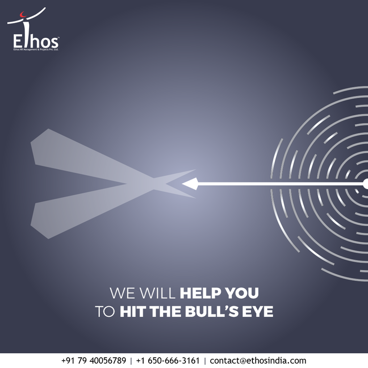 You deserve to hit your career goals right without getting deviated from your aim and aspirations! Get in touch with us and we will help you to hit the bull's eye.  #CareerCounselling #CareerGuidance #OurServices #CareerOpportunity #EthosIndia #Ahmedabad #EthosHR #Ethos #HR #Recruitment #CareerGuide #India