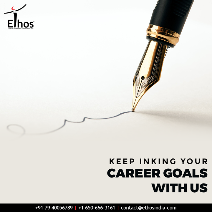 All your dreams come true when you have the determination to pursue them.  Keep inking your career goals with us!  #CareerCounselling #CareerGuidance #OurServices #CareerOpportunity #EthosIndia #Ahmedabad #EthosHR #Ethos #HR #Recruitment #CareerGuide #India