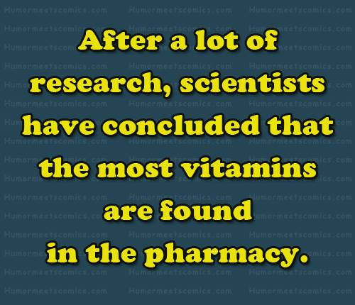 #Research #Vitamins #Pharmacy
