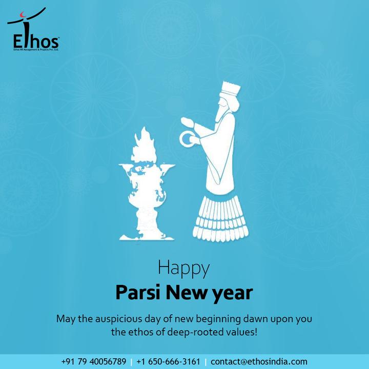 May the auspicious day of new beginning dawn upon you the ethos of deep-rooted values!  #ParsiNewYear #ParsiNewYear2021 #NavrozMubarak #Navroz #EthosIndia #Ahmedabad #EthosHR #Ethos #HR #Recruitment #CareerGuide #India