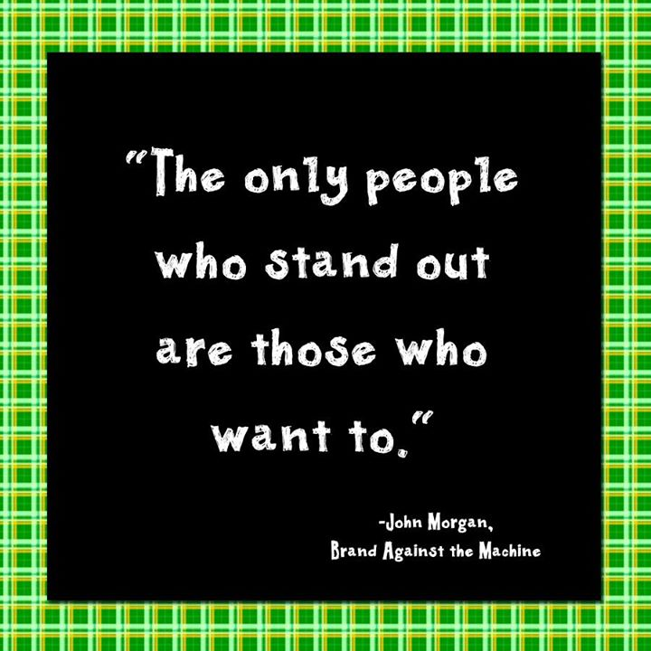 #StandOut, it truly makes a difference!