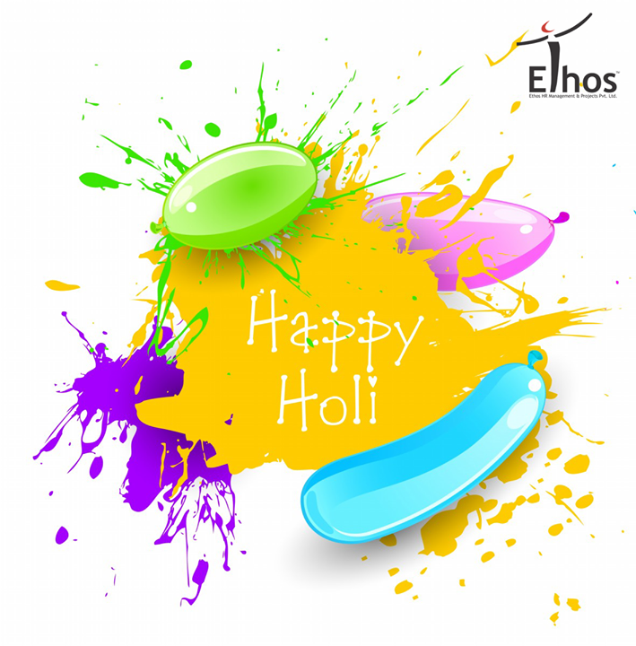 May this holi be filled with lots of color.  #HappyHoli!