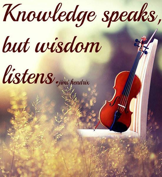 Ethos India,  Knowledge, Wisdom