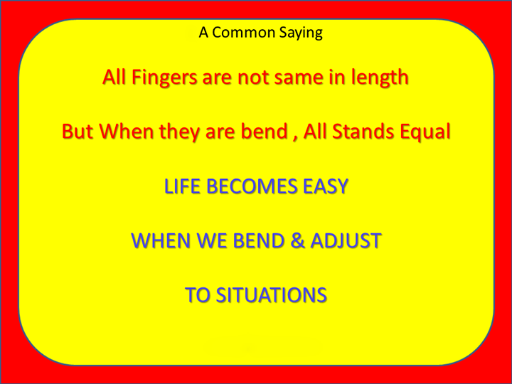 Learn to blend & adjust!