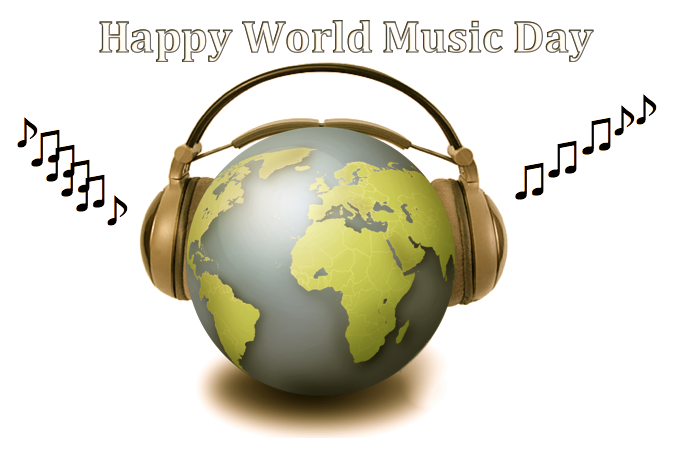 Where words fail, music speaks. #WorldMusicDay