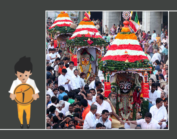 Greetings on #RathYatra..