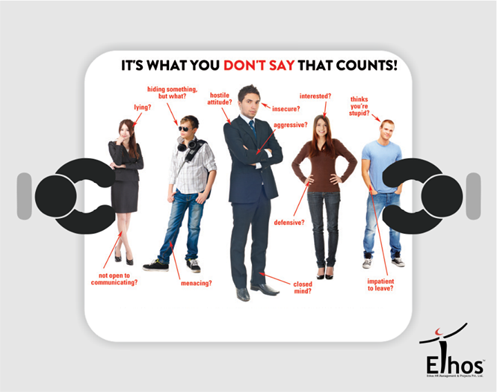 It's what you don't say that counts!  #BodyLanguage #RecruitmentTips