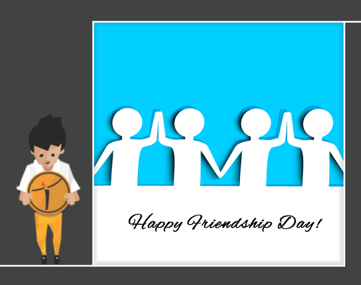 Your friend is the man who knows all about you, and still likes you.  #HappyFriendshipday